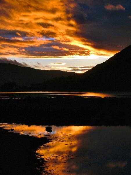 Sunset at Morvich by simbastuff