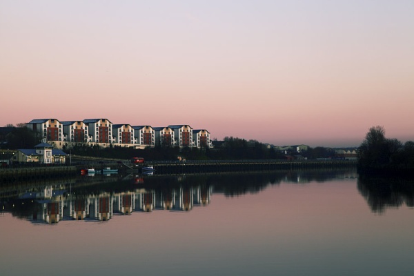 River Tyne Reflections by Sean_Dillon