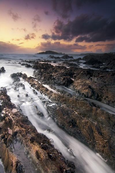 Bantham Rocks by banny