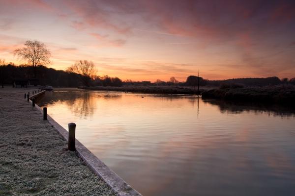 Frosty Sunrise by mlanda