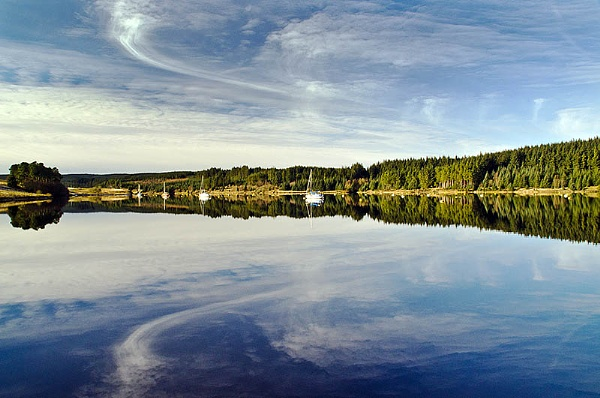 Kielder Water Northumberland UK