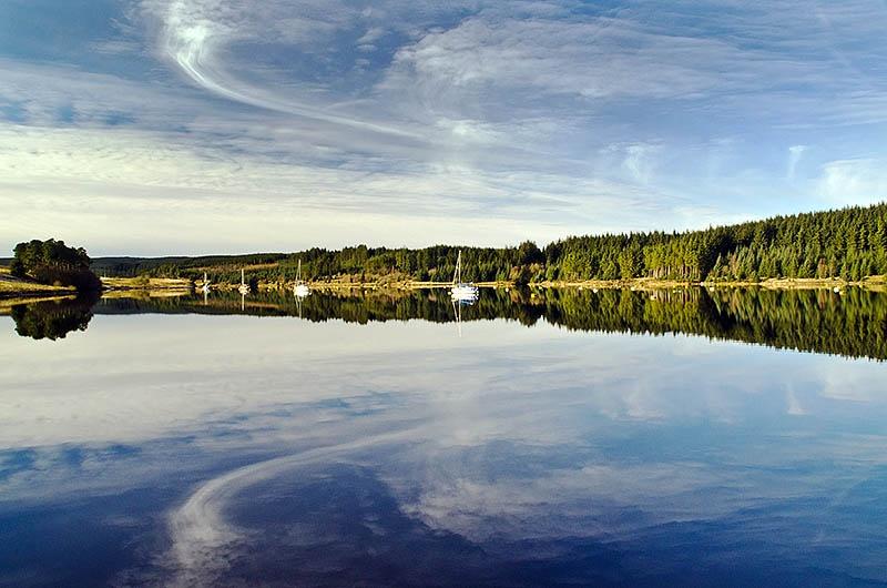 Kielder Water Northumberland UK