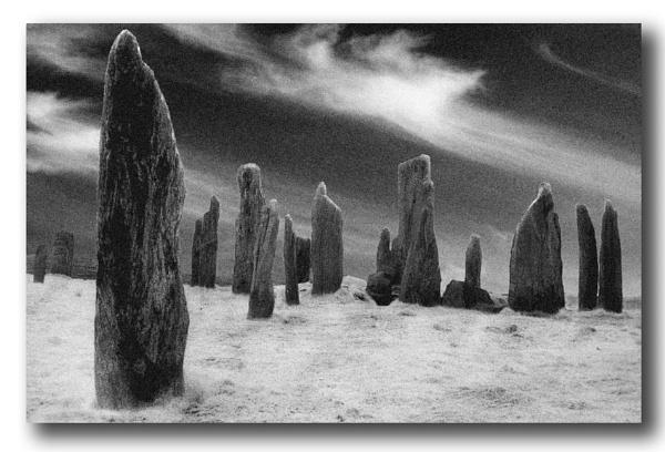 Standing stones of Callanish by bryan26