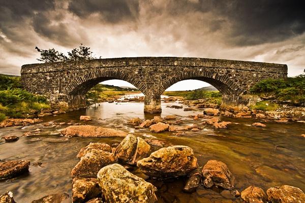 Bridge over mulled water (landscape) by chrissp26