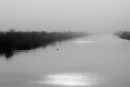 Misty Morning on the River