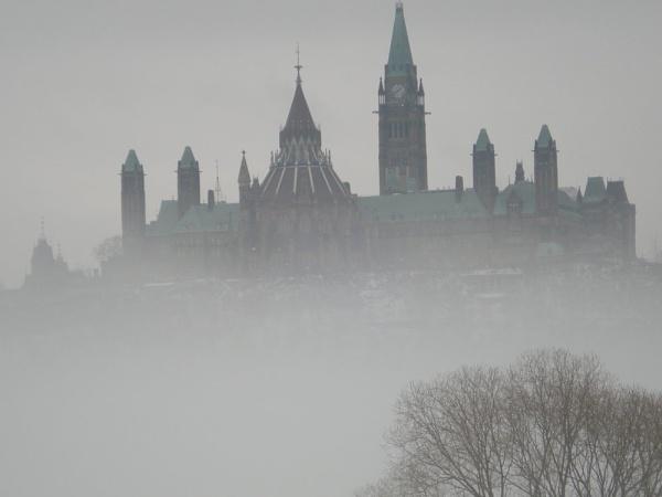 Low fog in Ottawa by tressypittkerby