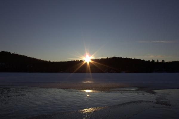 Lake Rosseau Sunset by JustDucky