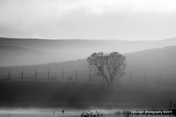 Freezing Fog High Dam by desbarnio