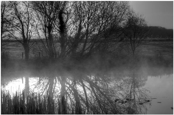 Misty morning reflection by TJC63