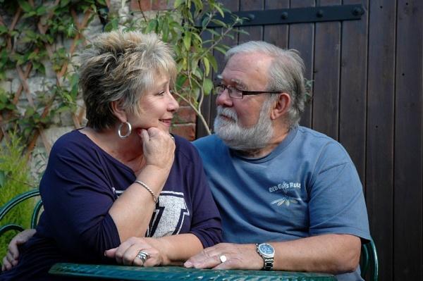 Happy couple by AliceLuisePhotography