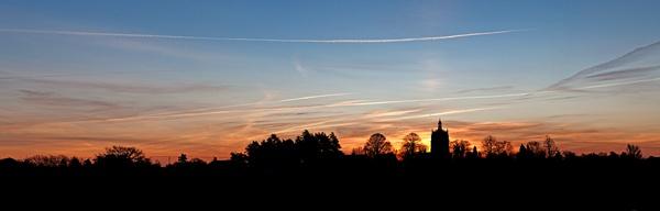 Sunrise over Necton by Fairlight13