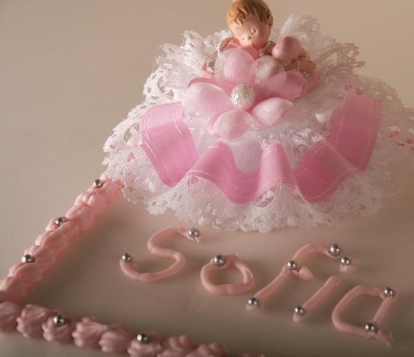 Ciastko dla chrzczenia Sofia by AlexandraSD