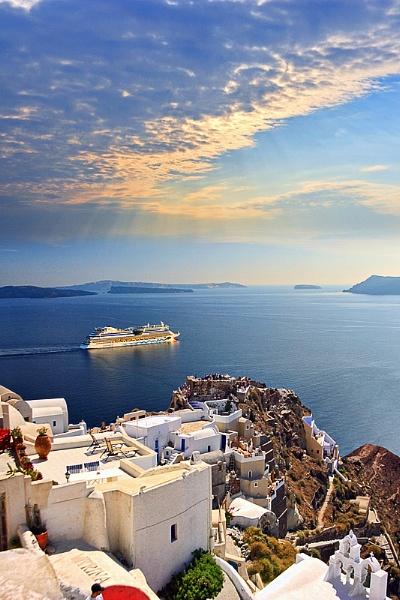 Santorini 2 by PatriciaWilson