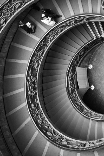 Vatican stair way by danfrier