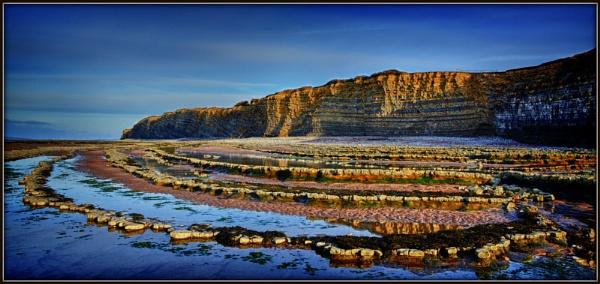 Kilve Cliffs by tony_hoops