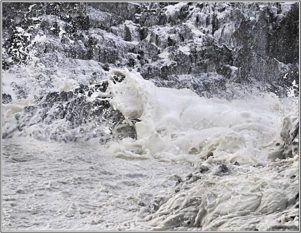 Wild Atlantic foam by Tooth