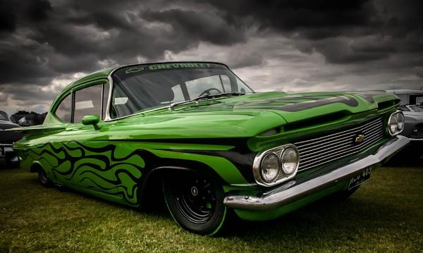 Mean Green Lowridin Machine by davidburleson