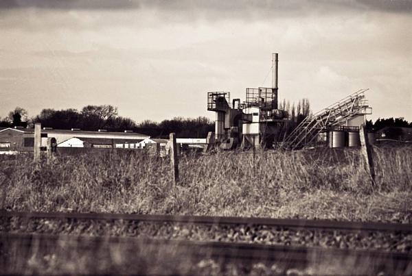 Asphalt Depot by WilliamRoar
