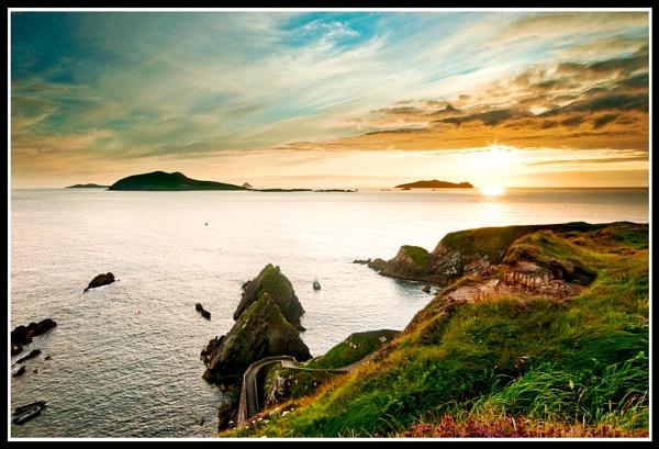 Blasket sunset by Fisher2