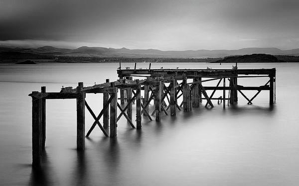 Hawkscraig Pier Fife by GaryMoffat