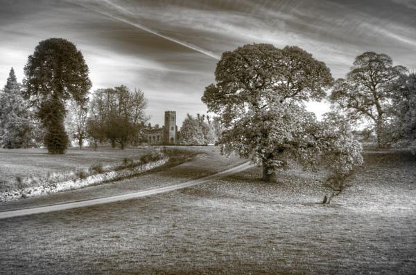 Calke Abbey grounds. by RLF