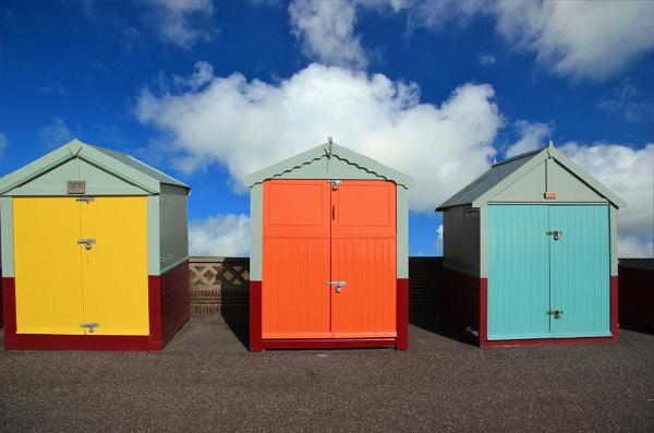 Beach huts by Steve2rhino