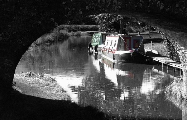 Brecon Canal by Bonvilston