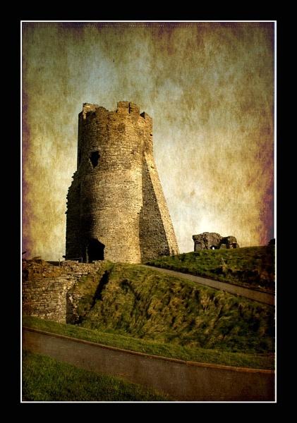 Aberystwyth Castle by Bonvilston