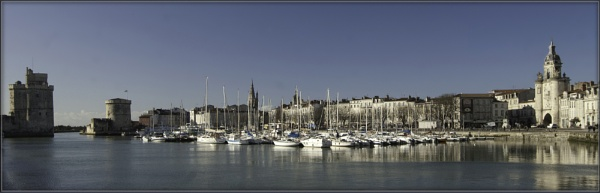 La Rochelle Harbour in December by annettep38