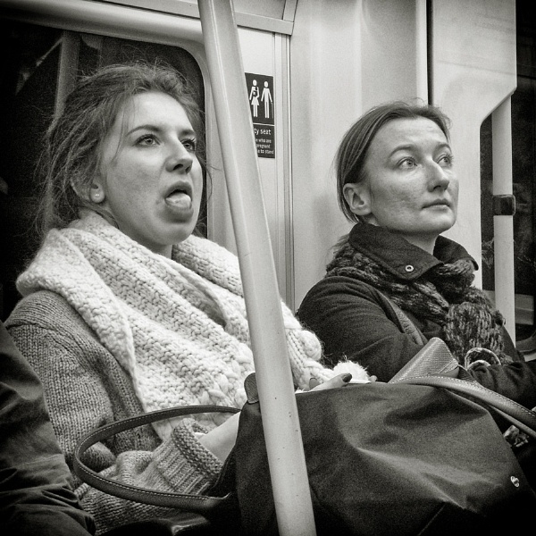 London commuters by luceombra