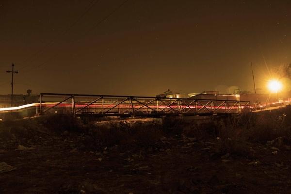 bridge by klutzyize