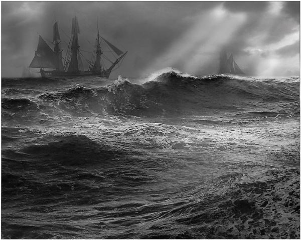 A Heavy Sea by CliveA