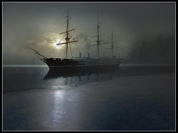 The Midnight Sun by CliveA