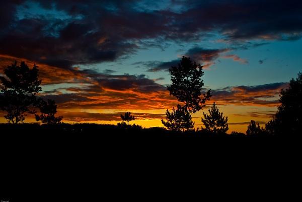 Interstate Sunrise by LeonHall