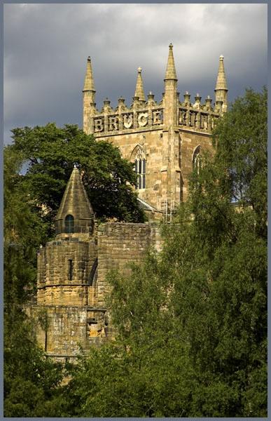 Dunfermline Abbey by waineswitch