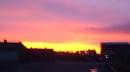 sun set  northummland