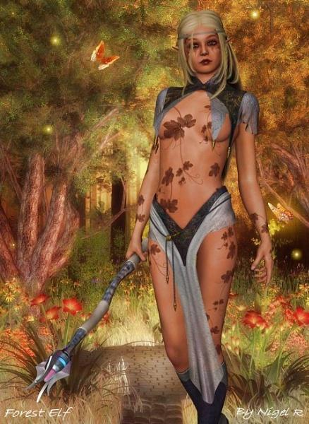 Forest Elf by leginR