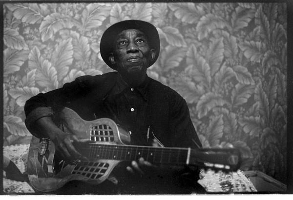Bluesman Mississippi John Hurt, 1966 by motamanx