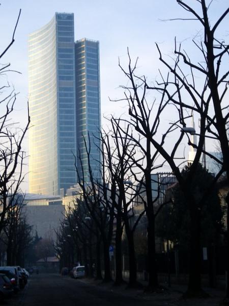 A Street in Milan by nonur