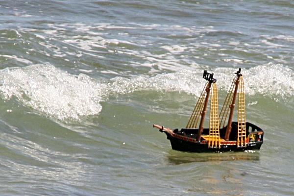 All at sea by DixClix