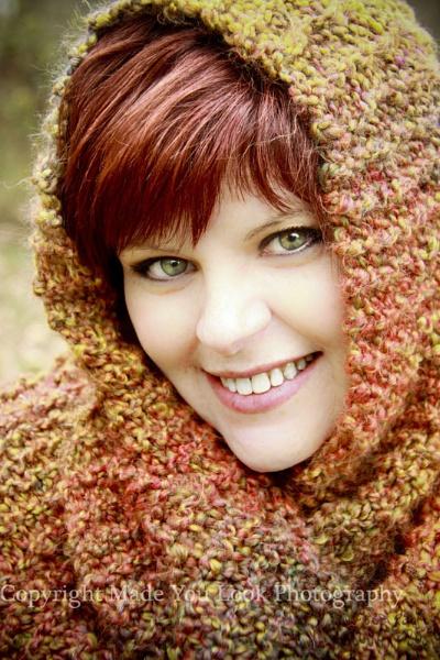 Redhead in Scarf by sthrn_gal