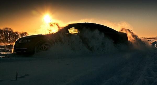 Fun in The Snow by gabymarian