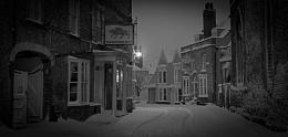 Maldon town snow