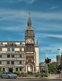 Clock Tower, Christchurch, New Zealand