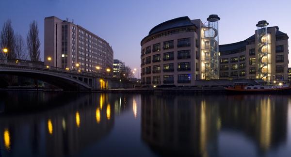 Reading Bridge by jimhellier