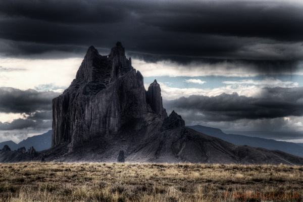Shiprock - Oct\' 2011 by chedd