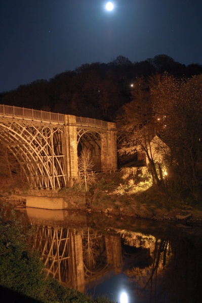 Moon over IronBridge