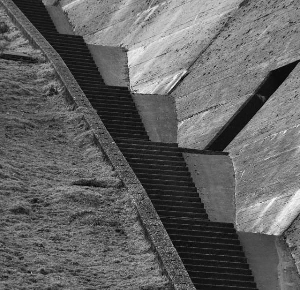 Meldon Dam steps by DrewAnderson