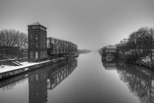 Barton Swing Bridge, Eccles by spb
