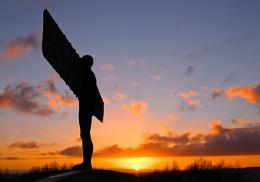 An Angel's Sunset